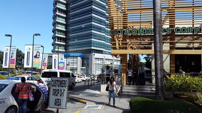 AyalaモールのCebu City Bank & ATM