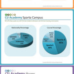 セブ留学 CIJ語学学校の国籍比率
