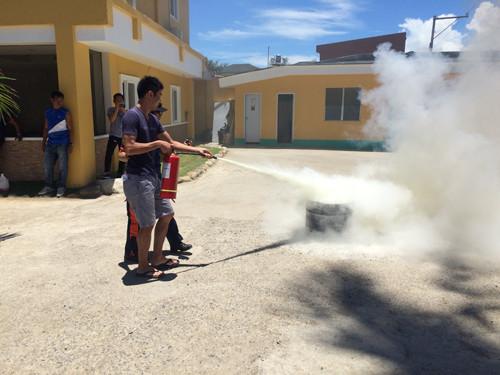 消防訓練 fire drill