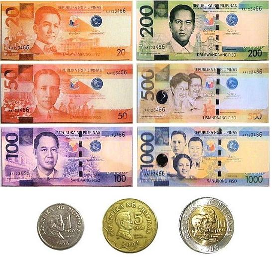 フィリピンの通貨 ペソ(Peso)