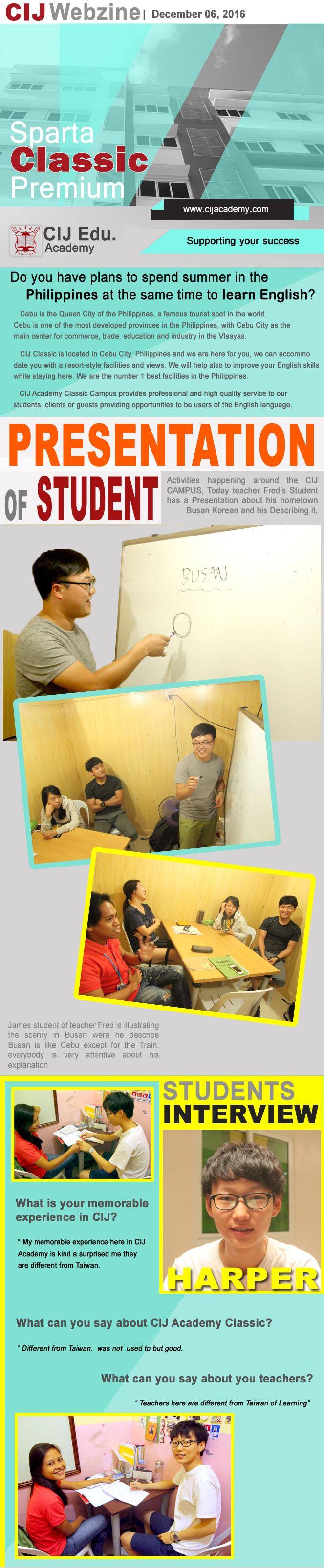 Cebu CIJ クラシック校 WEBマガジン